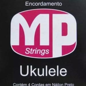 Encordoamento Ukulele 4 Cordas Mp Nylon Preto