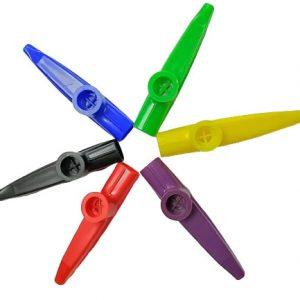 kazoo-abs-instrumento-musical-cores-variadas