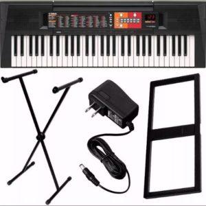 teclado_arranjador_yamaha_psr-f51_61_teclas+suporte+fonte