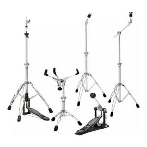 Kit Ludwig Estante Caixa /maquina/est Reta/girafa E Pedal