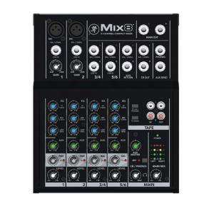 Mesa de Som 8 Canais Mix 8 Mackie