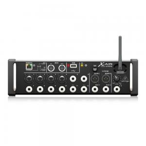 Mesa De Som Digital 12 Canais Wi-Fi E Gravador USB XR12 - Behringer